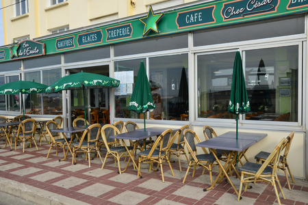 pas: France, restaurant in the city of Stella Plage in  Nord Pas de Calais