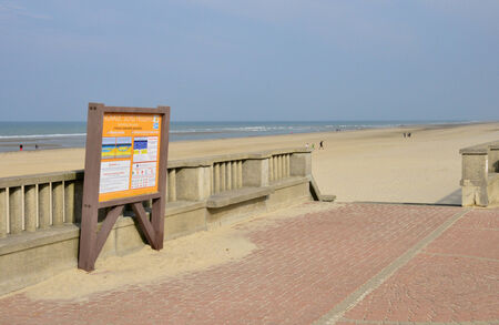 nord: France, the picturesque city of Stella Plage in  Nord Pas de Calais Stock Photo
