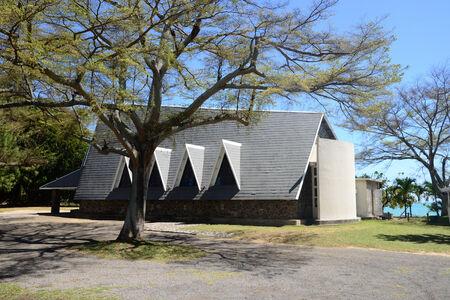 great bay: Africa, great bay church in Mauritius Island Stock Photo
