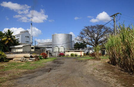 Africa, rhum distillery in village of Pamplemousses in Mauritius
