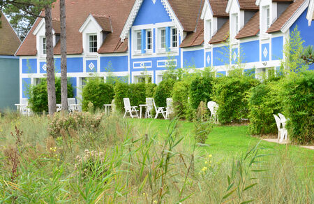 plage: France,  picturesque holiday village