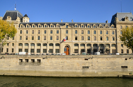 France, the prefecture of police in the city of Paris Editoriali