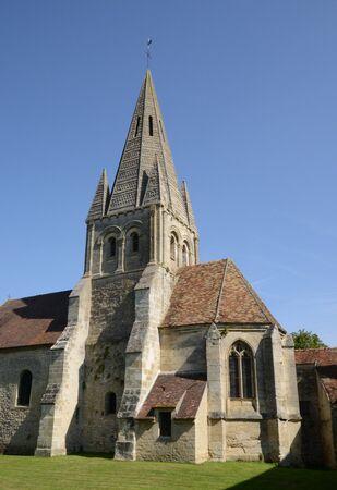 saint martin: Ile de France, the Saint Martin church of Gadancourt