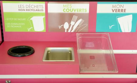 comedor escolar: Ile de France, la clasificaci�n de residuos en un comedor escolar en Les Mureaux Editorial