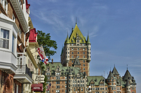quebec: Canada, Le Chateau Frontenac in the city of Quebec