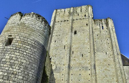 et: France, the castle of Loches in Indre et Loire