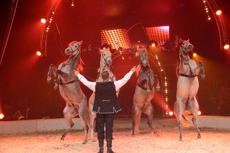 les: Ile de France, circus in Les Mureaux Editorial