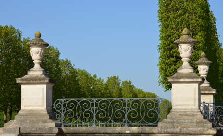 en: Ile de France, the picturesque castle park of Saint Germain en Laye