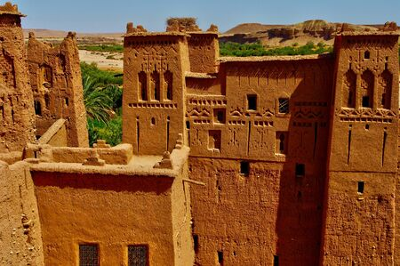 fortify: Ait Ben Addou, an old ksar in the desert
