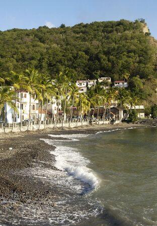 martinique: Francia, paisaje de Bellefontainein Martinica