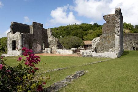 martinique: France, the picturesque Dubuc castle in Martinique