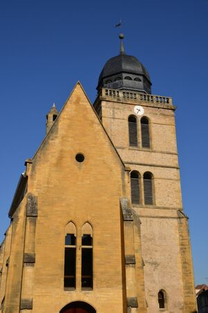 le: Bourgogne, the picturesque Saint Nicolas church in Paray le Monial