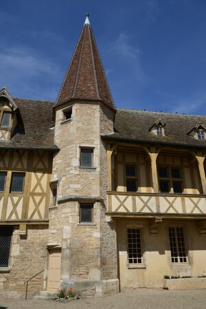 bourgogne: France, the old and picturesque city of Beaune