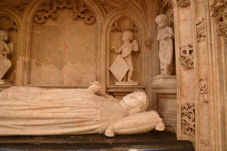 effigy: France, the Brou monastery of Bourg en Bresse in Ain