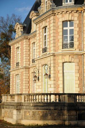 les: Ile de France, chateau de Becheville in Les Mureaux