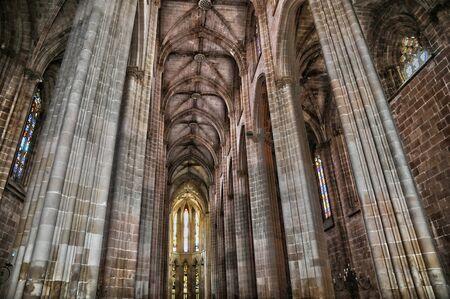historische: het historische klooster van Batalha in Portugal Redactioneel