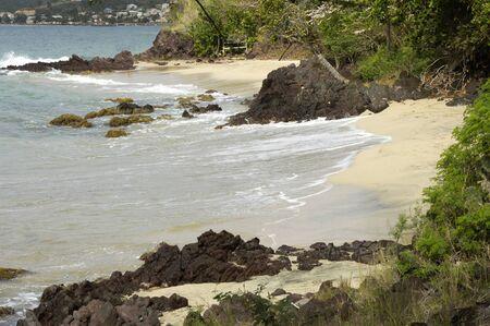 martinique: Francia, paisaje de Le Diamant en Martinica