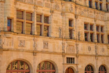 townhall: Bourgogne, the picturesque city hall of Paray le Monial
