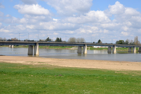 sully: France, the picturesque city of Sully sur Loire in Loiret