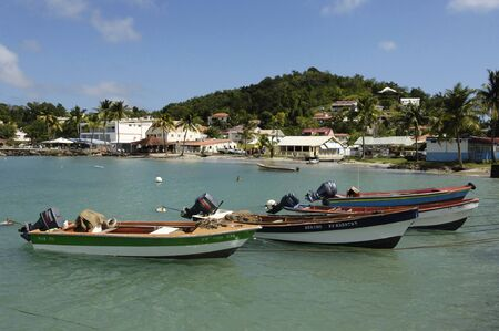 anne: France, Martinique, the village of Sainte Anne