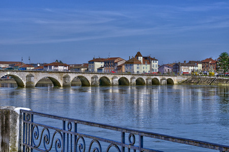 laurent: France, the picturesque city of  Saint Laurent sur Saone