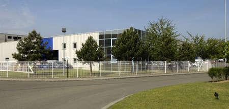les: Ile de France, the business park of les mureaux