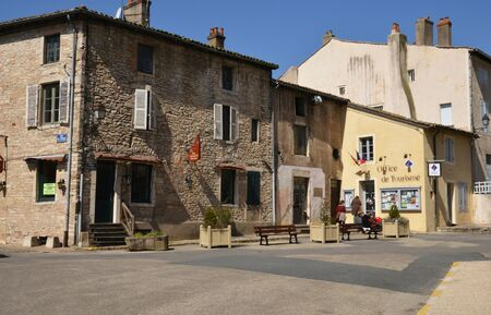 touristy: France, the picturesque city of  Tournus in Saone et Loire