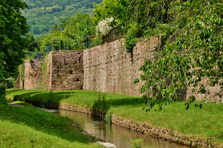 rampart: France, the picturesque rampart of Wissembourg in Alsace