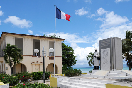 louis: France, war memorial of  Port Louis in Guadeloupe