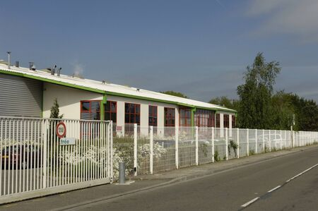 developement: Ile de France, the business park of les mureaux