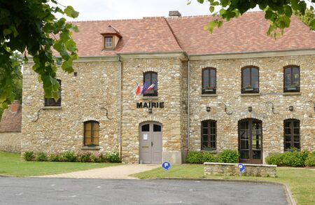 townhall: Ile de France, the picturesque city hall of Hargeville