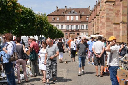 bric: France, the picturesque city of Wissembourg in Alsace