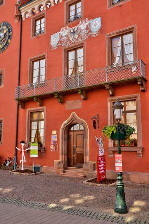 chancellerie: France, la chancellerie pittoresque de Haguenau en Alsace