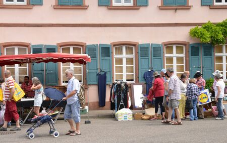 antics: France, the picturesque city of Wissembourg in Alsace