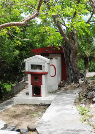 guadeloupe: France, indian temple of Port Louis in Guadeloupe