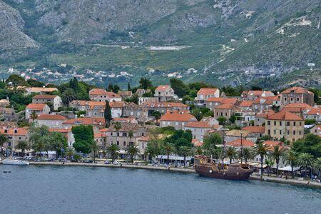 balkan: Croatia, the picturesque village of Cavtat in Balkan Editorial