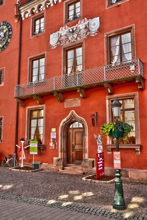 chancellerie: France, the picturesque chancellery of Haguenau in alsace