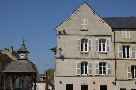 ile de france: Ile de France, the picturesque city of  Magny en Vexin Stock Photo