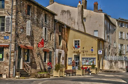 et: France, the picturesque city of  Tournus in Saone et Loire