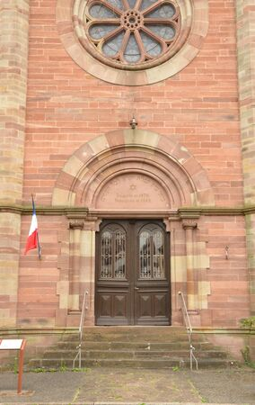 synagogue: France, the picturesque synagogue of  Obernai in alsace