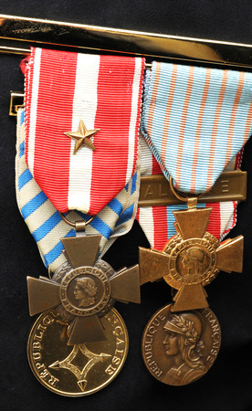 war decoration: French military decorations
