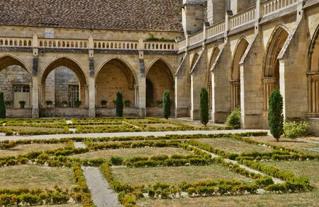 val: Ile de France, the picturesque abbey of Royaumont in Val d Oise Editorial
