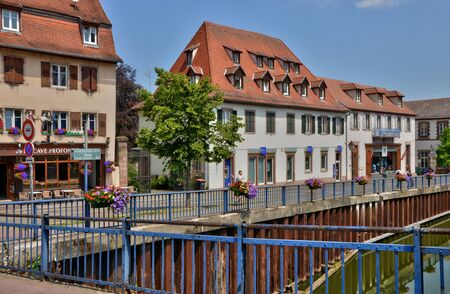 alsace: France, the picturesque city of Saverne in alsace