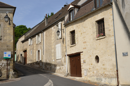 le: Ile de France, the picturesque city of Jouy le Moutier