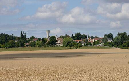 ile de france: Ile de France, the picturesque village of Drocourt