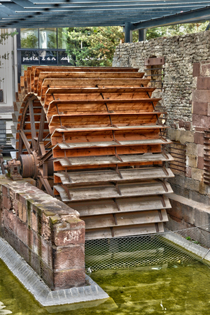 alsace: France, old mill in the city of Haguenau in alsace
