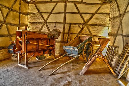 sur: France, the picturesque Bresse museum in Saint Cyr sur Menthon Editorial