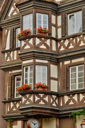 timbering: France, the picturesque city of Saverne in alsace