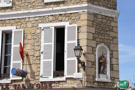 pontoise: Ile de France, the picturesque city of Pontoise Stock Photo