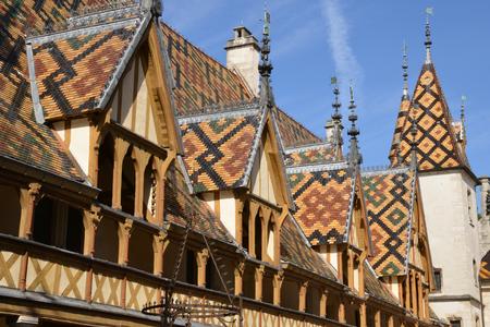 Frankrijk, de oude en hospices van Beaune